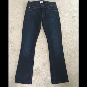 Hudson Beth baby boot jeans, size 27